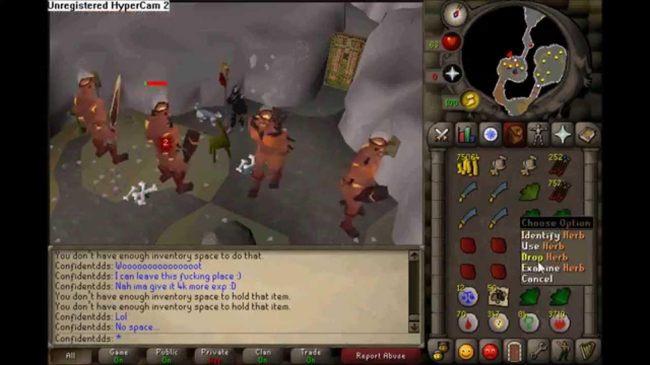 Runescape 2007 - Fire giants - YouTube