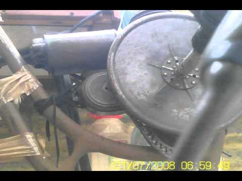 Silnik Rowerowy Evans 1915 - 24, Hilfsmotor Evans, Evans Bike Engine.