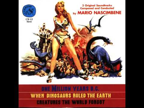 One Million Years B.C. OST - 07 Tumak rescues Loana  Eruption of the volcano Finale