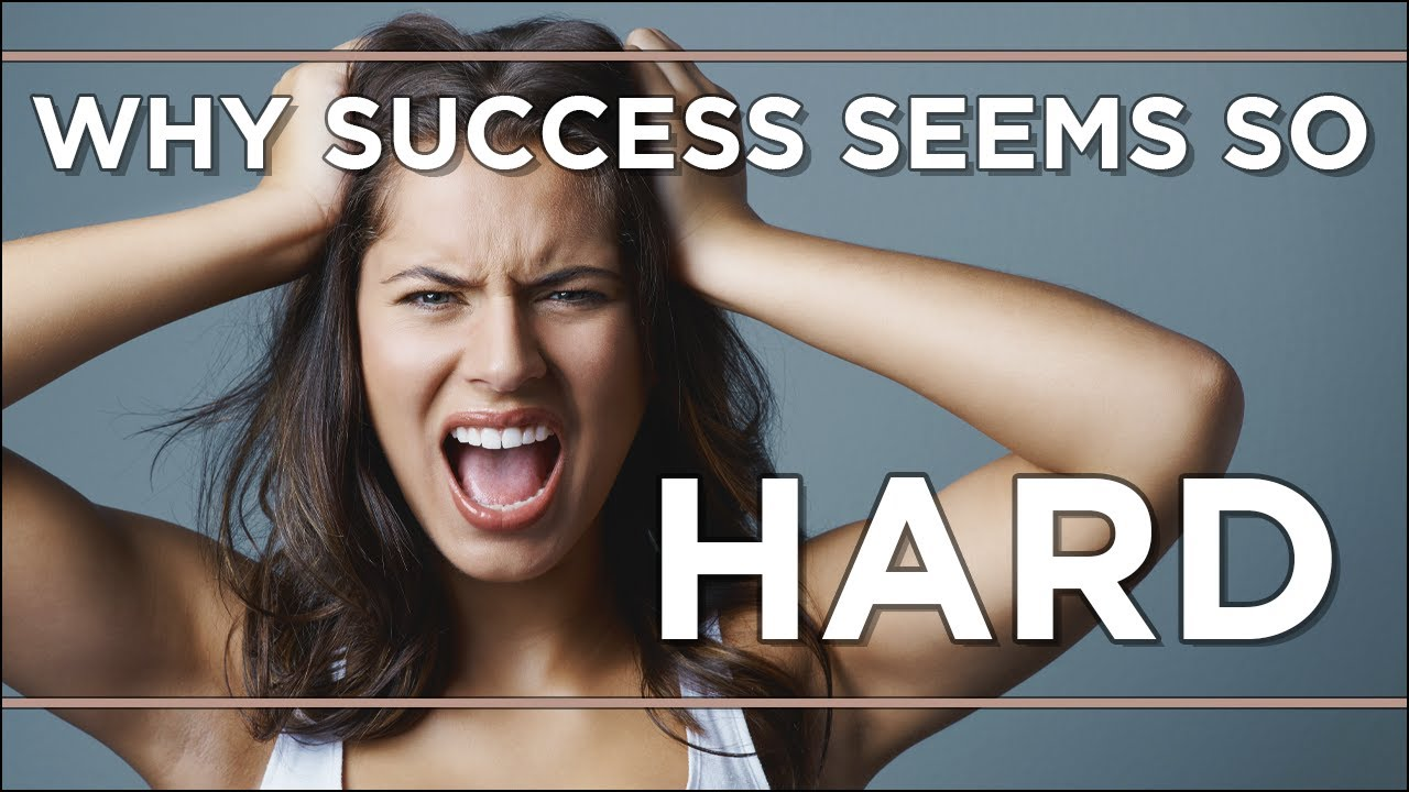 Why success seems so hard to attain (But really isn't)