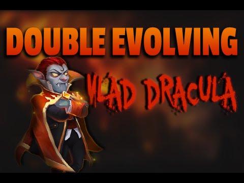 Castle Clash Double Evolving Vlad Dracula