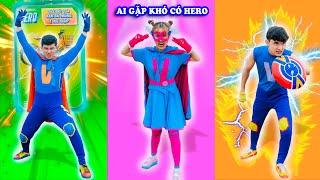 Biệt Đội Siêu Anh Hùng Hero Cứu Chi Béo Thoát Khỏi Ngưu Nhị Vương - Phim Hài Táo Xanh TV