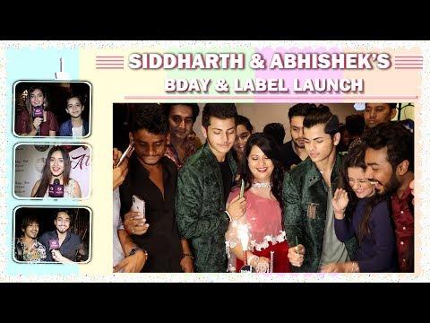 Siddharth Nigam & Abhishek Nigam's Bday & Label Launch | Avneet, Anushka, Jannat, Faisu & More
