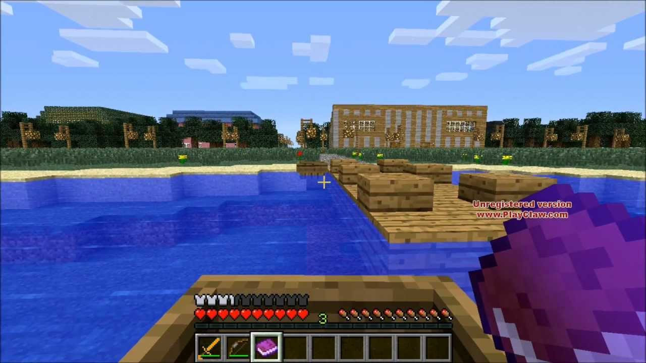 how to get lightning to strike you in minecraft