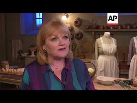 Actress that played Mrs Patmore \'blown away\' by new \'Downton Abbey\' exhibit