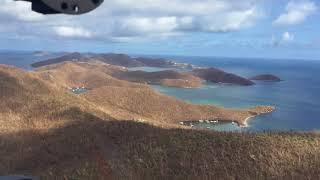 9/17/17 Aerial Footage East End part 1 St John USVI after Hurricane Irma