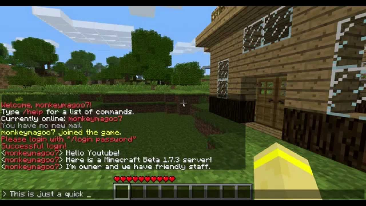 Server 4 5 Address Minecraft Ip Minecraft 1