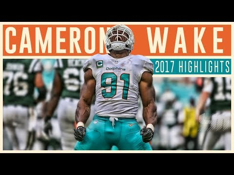 Cam Wake 2017 Miami Dolphins Highlights