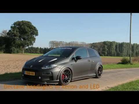 abarth punto evo supersport nero scorpione youtube. Black Bedroom Furniture Sets. Home Design Ideas