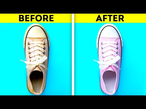 19 FANTASTIC HACKS TO REPAIR YOUR CLOTHES AND SHOES