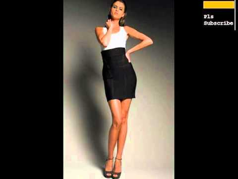 Black High Waisted Skirt Outfits For Women Romance - YouTube