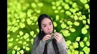 Edelweiss Ocarina / green