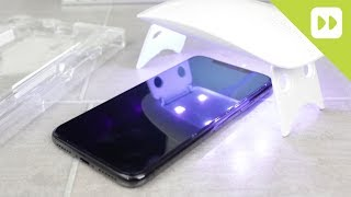 WhiteStone Dome iPhone X Glass Screen Protector Installation Guide & Review