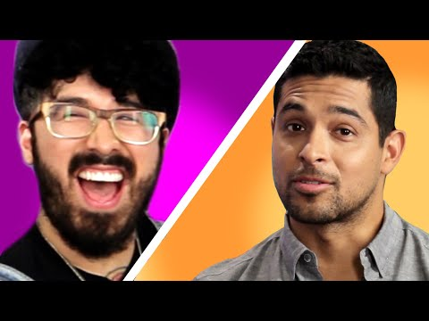 Actor Wilmer Valderrama on Curly Qs