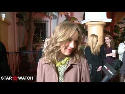 Brie Larson red carpet interview at 2014 Santa Barbara International Film Festival