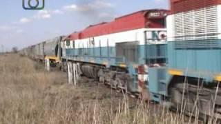 Tren granero de NCA rumbo a General Deheza