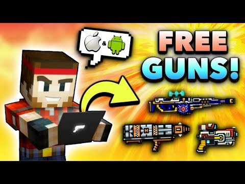 You Can Get ALL GUNS FREE In Pixel Gun 3D Instantly!! (iOS/Android)