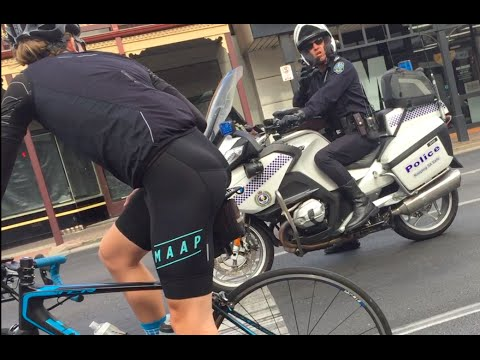 Thumbnail: Aussie cop vs Cyclist.. KEEP TO THE BIKE LANE?!