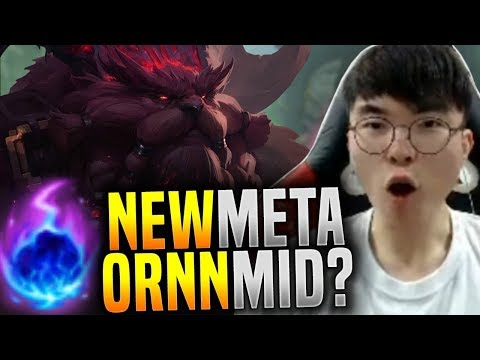 Faker Breaking the Meta and Plays Ornn Mid! ( Will Work? ) - SKT T1 Faker Plays Ornn Mid!   SKT T1