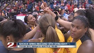 Shock beats Seattle for 8th straight win
