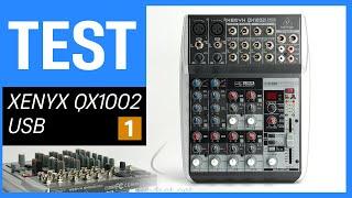 Behringer XENYX QX1002 USB im Test - Teil 1: Unboxing, Vorstellung, Fazit