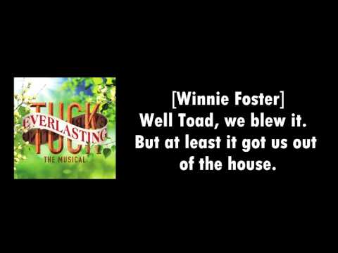 2. Good girl Winnie Foster ~ Tuck Everlasting [LYRICS VIDEO]