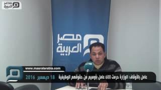 بالفيديو والمستندات| 600 عامل بأوقاف أوسيم في مهب الريح.. والوزارة: عمالة وهمية