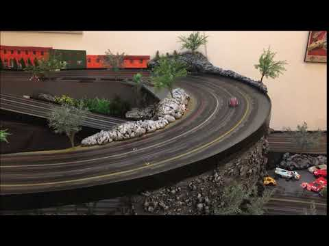test drive Revo Slot car on wooden track