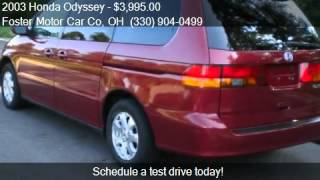 2003 Honda Odyssey EX 4dr Minivan for sale in North Canton,
