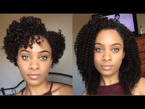 Her Given Hair How To Prep Amp Install Curly Clip Ins On