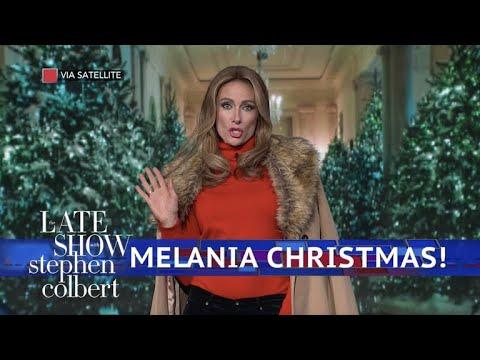 Melania Trump Is Dreaming Of A Dark Christmas