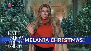 failzoom.com - Melania Trump Is Dreaming Of A Dark Christmas