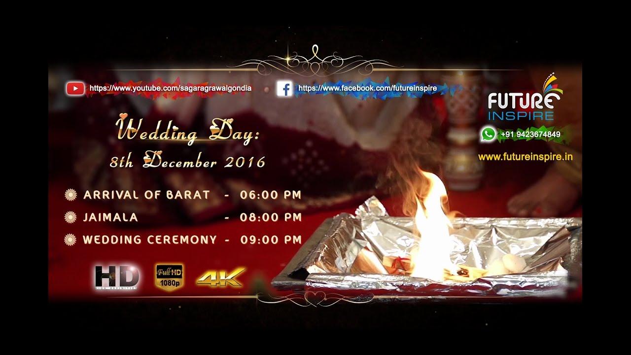Bhuvan weds Swati - Traditional Hindu Premium Wedding Invitation ...