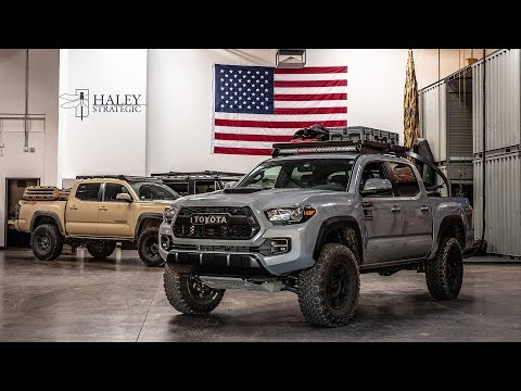 Travis Haley's Tacoma - Haley Strategic Rig Walk Around