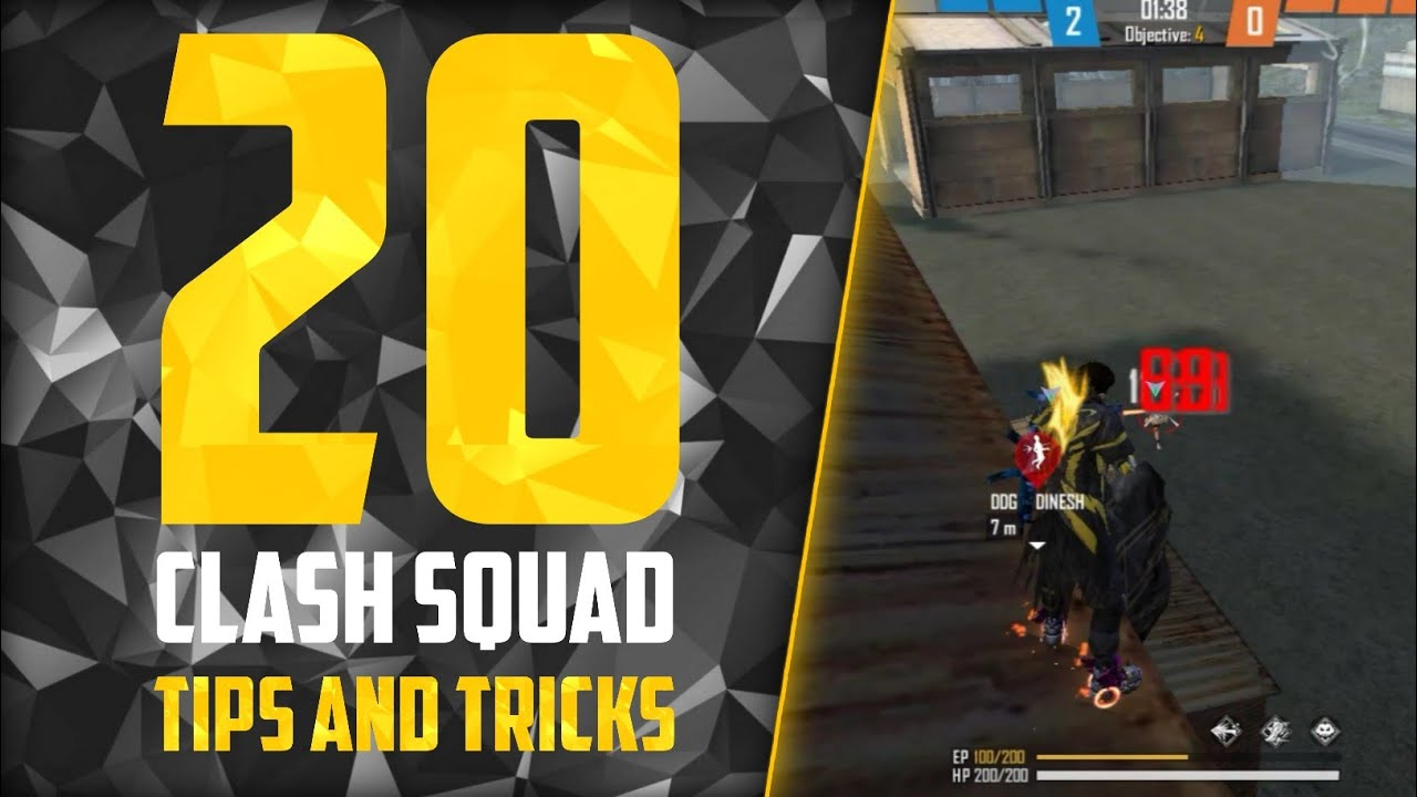 Download TOP 20 CLASH SQUAD TIPS AND TRICKS IN FREE FIRE