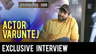 Actor Varun Tej Exclusive Interview || Antariksham Movie || Great Andhra