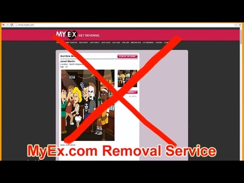 MyEx.com Post Removal - How to get removed from Myex