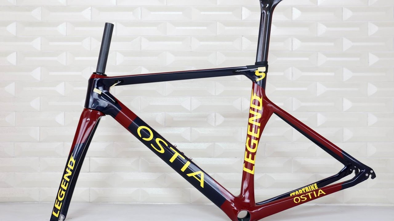 OEM brand carbon frame . custom paint 2017 aero road racing carbon ...