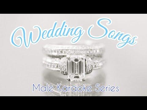 Wedding Songs (Male Karaoke Series)