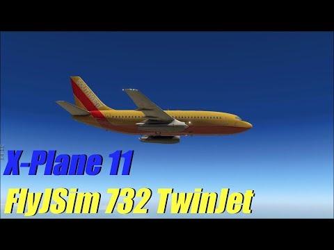 X-Plane 11 - FlyJSim 732 TwinJet | KSLC to KPHX (IFR)