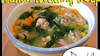 Trying Laura's Italian Wedding Soup [day 62]