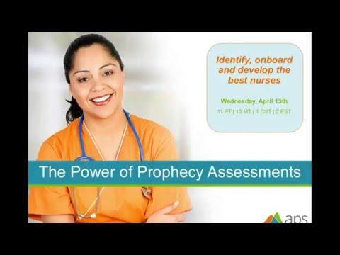 Webinar: Prophecy Health