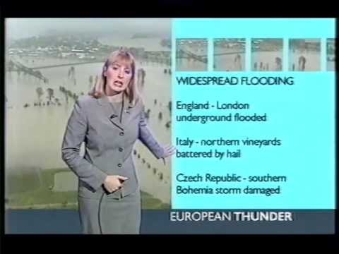 BBC Weather  9th August 2002