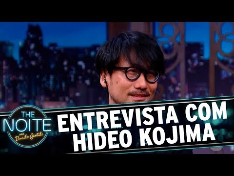 Entrevista com  Hideo Kojima | The Noite (10/11/17)