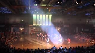 EBS Cheerleading @ WHU Euromasters 2013