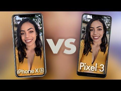 Google Pixel 3 XL Camera vs iPhone Xs Max!