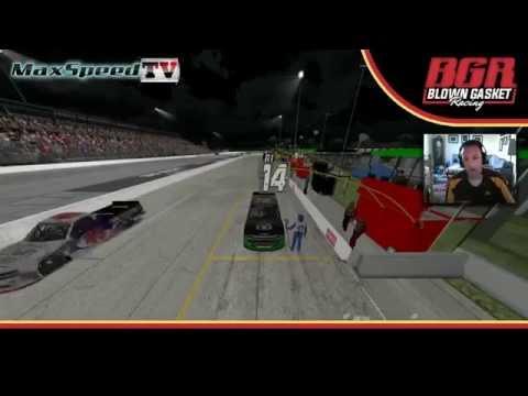 American Sim Racing Series Trucks at Lucas Oil Speedway