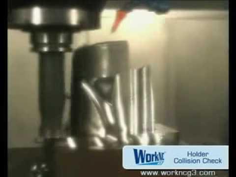 CAD/CAMシステムWorkNC - 荒加工 - ストックマネージメント