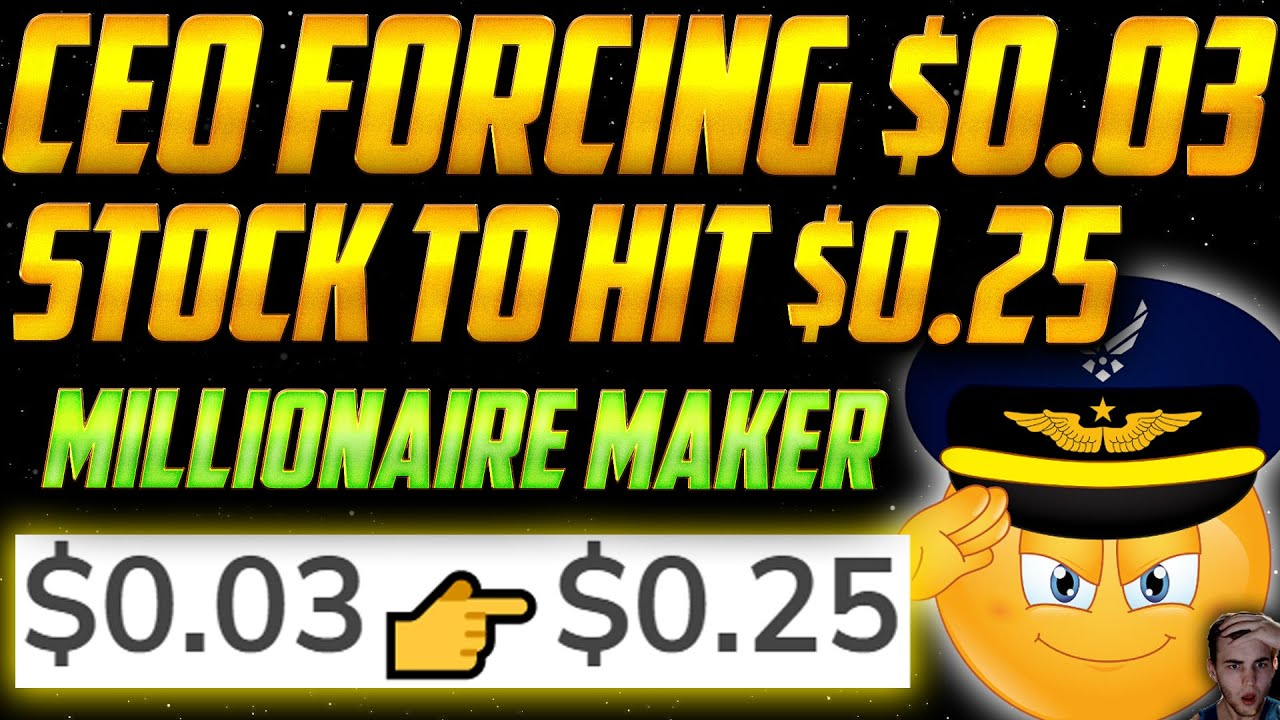 Download The CEO of THIS $0.03 Penny Stock is FORCING THE PRICE TO $0.25 for MILLIONS!