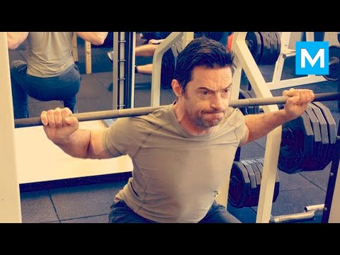Hugh Jackman Workout for Wolverine  Muscle Madness